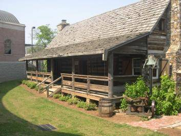The 18th-century home of Cherokee Tribal Leader White Path