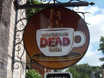 Check out Senoia's Waking Dead Cafe where you can order The Walking Dead casts favorite on set sips!