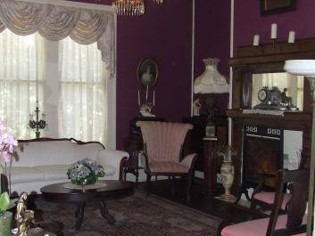 The Parlor filled with Antiques