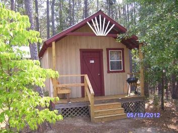 Stay in One of our Five cabins