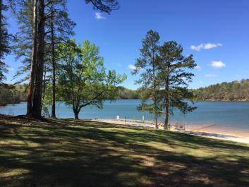 George Washington Carver Park on Allatoona Lake near Cartersville GA