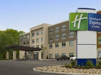 The New Holiday Inn Express in Commerce, GA