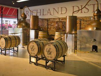 Richland Rum Artisan Distillery in Richland