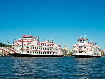 The Georgia Queen and Savannah River Queen