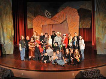 "2012's Cast & Crew of ""James & the Giant Peach""."