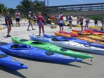 Lets paddle! Group tours with Sea Kayak Georgia