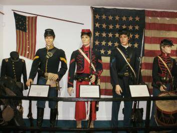Original Fire Zouave, Infantry and Cavalry uniforms