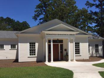Thomasville Genealogical Library