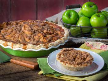 Granny's Apple is a pie harkens back to a simpler time when food was fresh, homemade, and created by someone you knew.