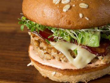 Jive Turkey Burger