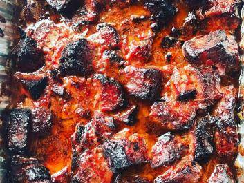 What time is it?  It's burnt end time!