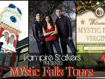 Book a tour of Mystic Falls! Sets used on The Vampire Diaries