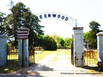 Entrance into Greenwood Cemetery