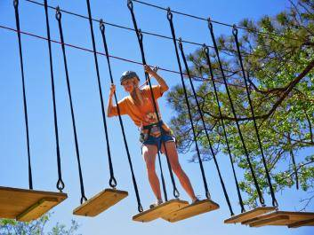 TreeTop Adventure at Callaway Gardens