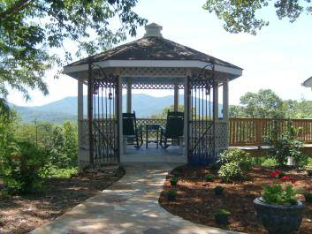 Relax on our gazebo at Chancey Hill Inn