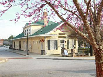 Conyers Welcome Center located inside the Historic Train Depot (photo by Gary Ezell)