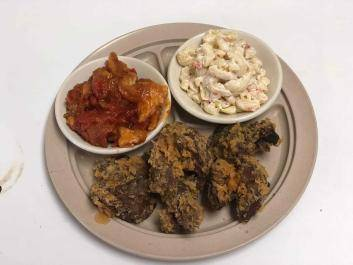 Fried Livers and Gizzards