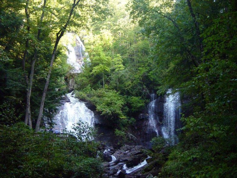 Anna Ruby Falls Recreation Area Official Georgia Tourism