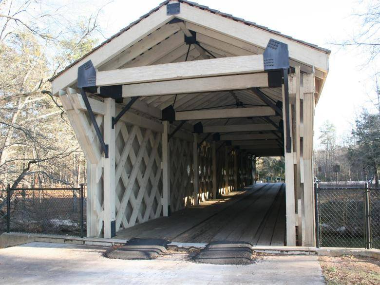 Hurricane Shoals Covered Bridge and Park | Official Georgia