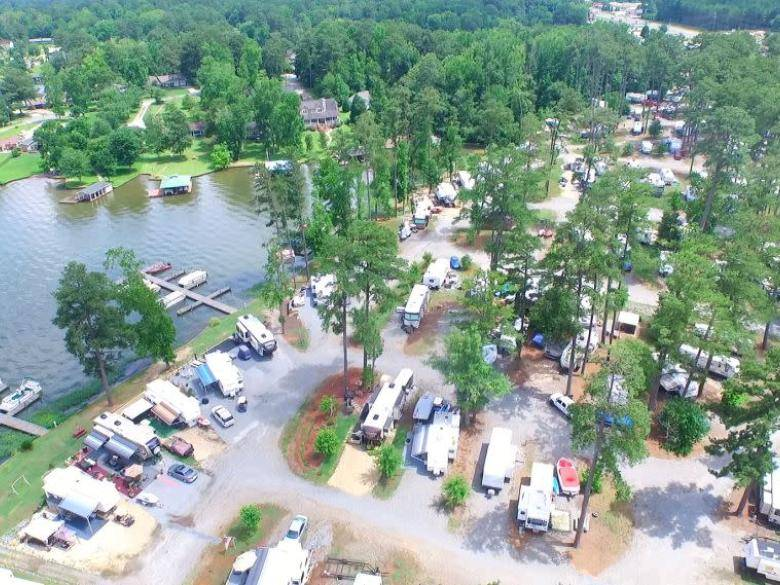 Little River Park Campground & Marina | Official Georgia ...