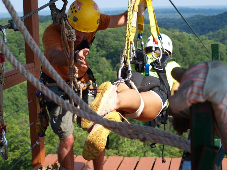 Social & Banning Mills Screaming Eagle Eco Zip Line Canopy Tours   Official ...