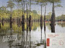 Completed George L. Smith State Park puzzle photo