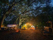 Camping on Cumberland Island, Georgia. Photo by @damiandelgado