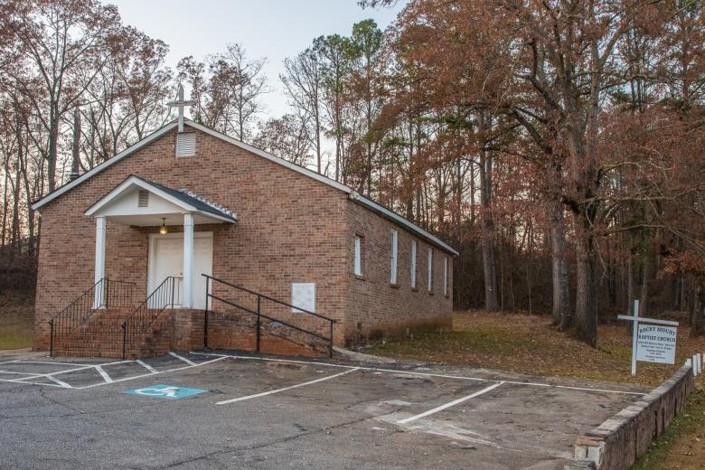 Rocky Mount Baptist Church in Rex, Georgia