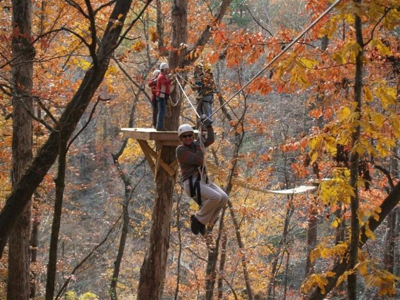 Banning Mills Screaming Eagle Zip Line