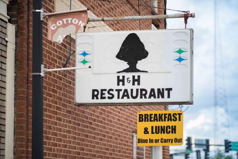 H&H Restaurant in Macon, Georgia