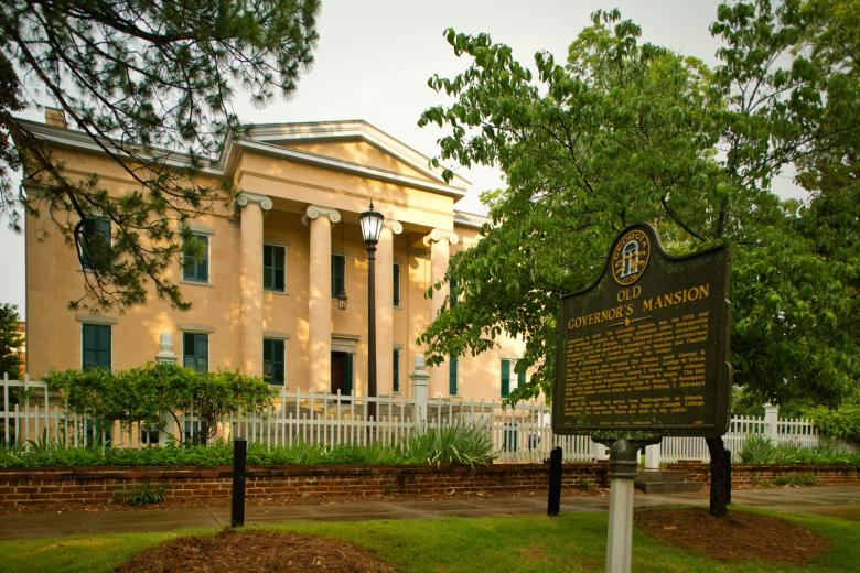 Old Governor's Mansion in Milledgeville, Georgia