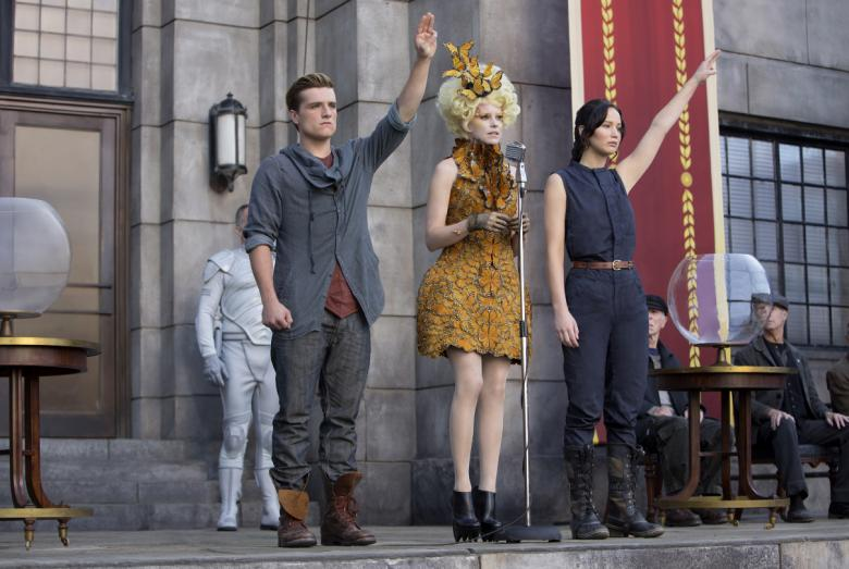 The Hunger Games: Catching Fire at the Swan House, Atlanta History Center