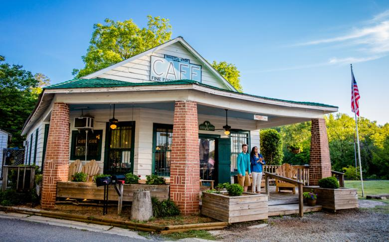 The Whistle Stop Cafe in Juliette, Georgia