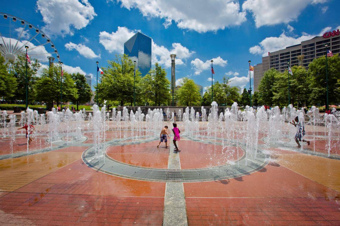 2018 Visitor Guide To Atlanta S Centennial Olympic Park