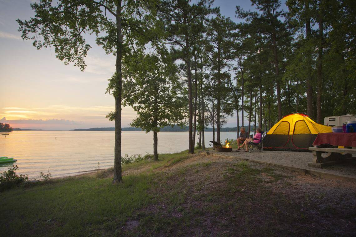 9 Great Spots To Camp In Georgia Official Georgia Tourism