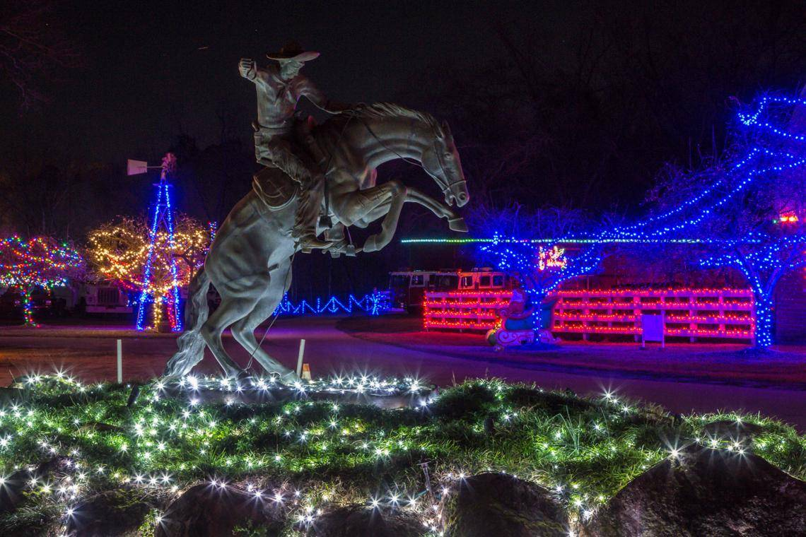 10 Holiday Light Displays In Georgia Updated 2018