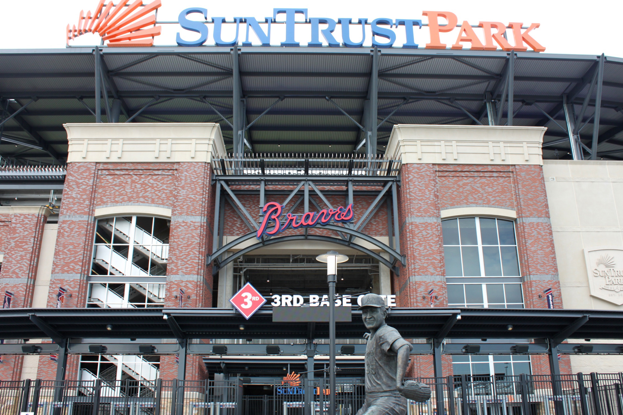 SunTrust Park, home of the Atlanta Braves. Photo by Caroline Eubanks